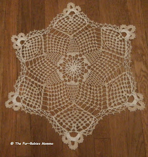 Snowflake Doily from Aunt Lydia's
