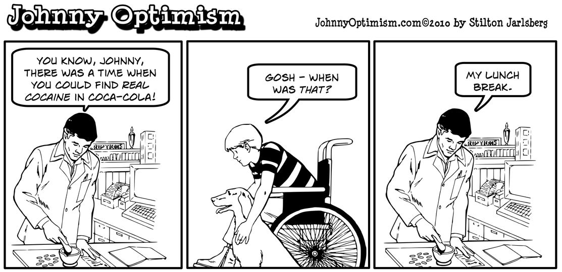 Johnnyoptimism, johnny optimism, pharmacist, cocaine, coke