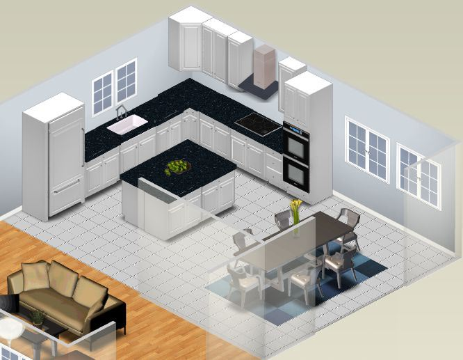 Small Kitchen Design Plans Interior 2014