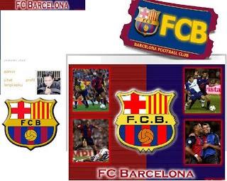 Barcelona Blogger Template
