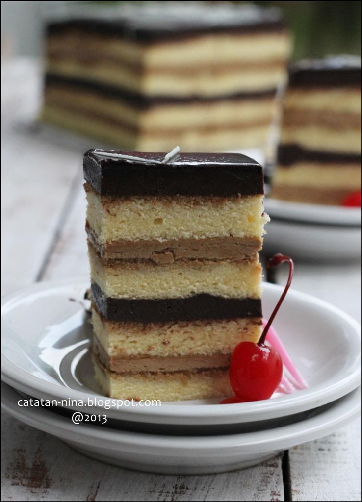 Opera Cake Ricke Besar Yang Jual Opera Cake