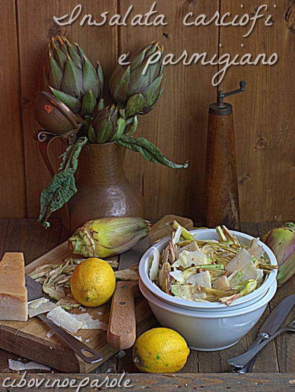 Insalata carciofi e parmigiano