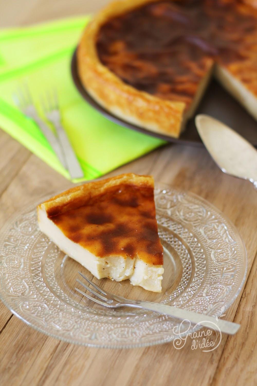 Flan pâtissier sans pâte - Une Graine d'Idée