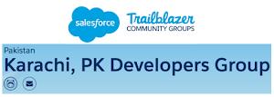 Salesforce Karachi Pakistan Developers Group