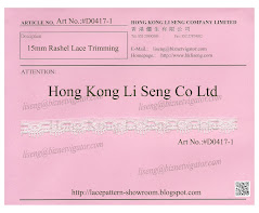 Rashel Lace Trimming Supplier - Hong Kong Li Seng Co Ltd