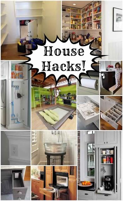 Helpful House Hacks