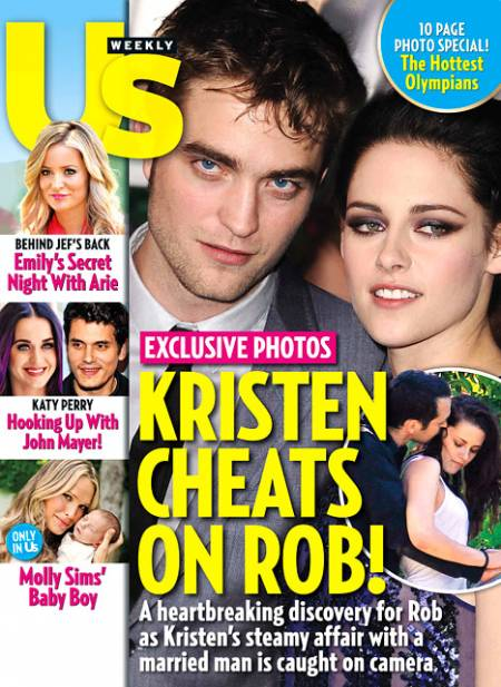 US Weekly Magazine issue: Kristen Cheats on Rob