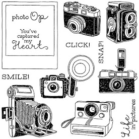 """April 2016 - Stamp of the Month - """"Life in Pictures"""""""""""