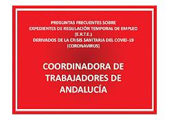 ACTUALIZADO - PREGUNTAS FRECUENTES SOBRE EXPEDIENTES DE REGULACIÓN TEMPORAL DE EMPLEO (E.R.T.E.) DE