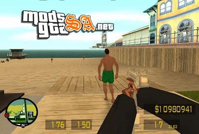 SA - Mod FPS Counter Strike
