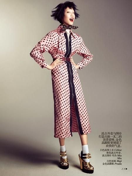 Miu Miu AW 2013 Pink dots dress 26 Looks