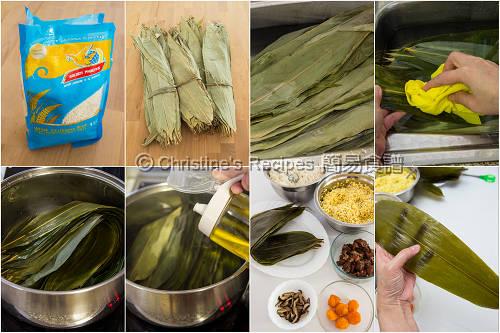 Ingredients of Sticky Rice Dumplings