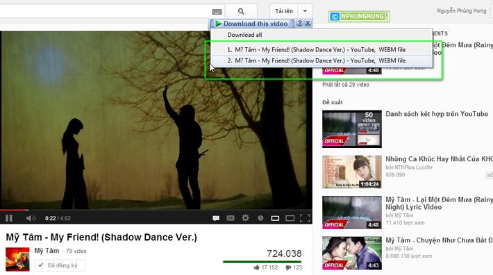 Khắc phục lỗi IDM download file WEBM từ Youtube