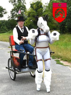 Paul et Alcyone Ponygirl