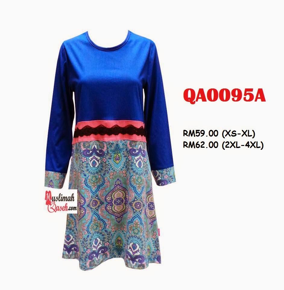T-Shirt-Muslimah-Qaseh-QA0095A