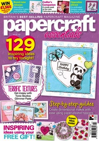 Published in Papercraft Essentials