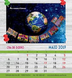 Calendario CRA de Dodro 2019