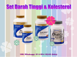 SET DARAH TINGGI / KOLESTEROL