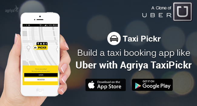 build a taxi booking app like uber with agriya 39 s uber clone script taxipickr techandmarket. Black Bedroom Furniture Sets. Home Design Ideas
