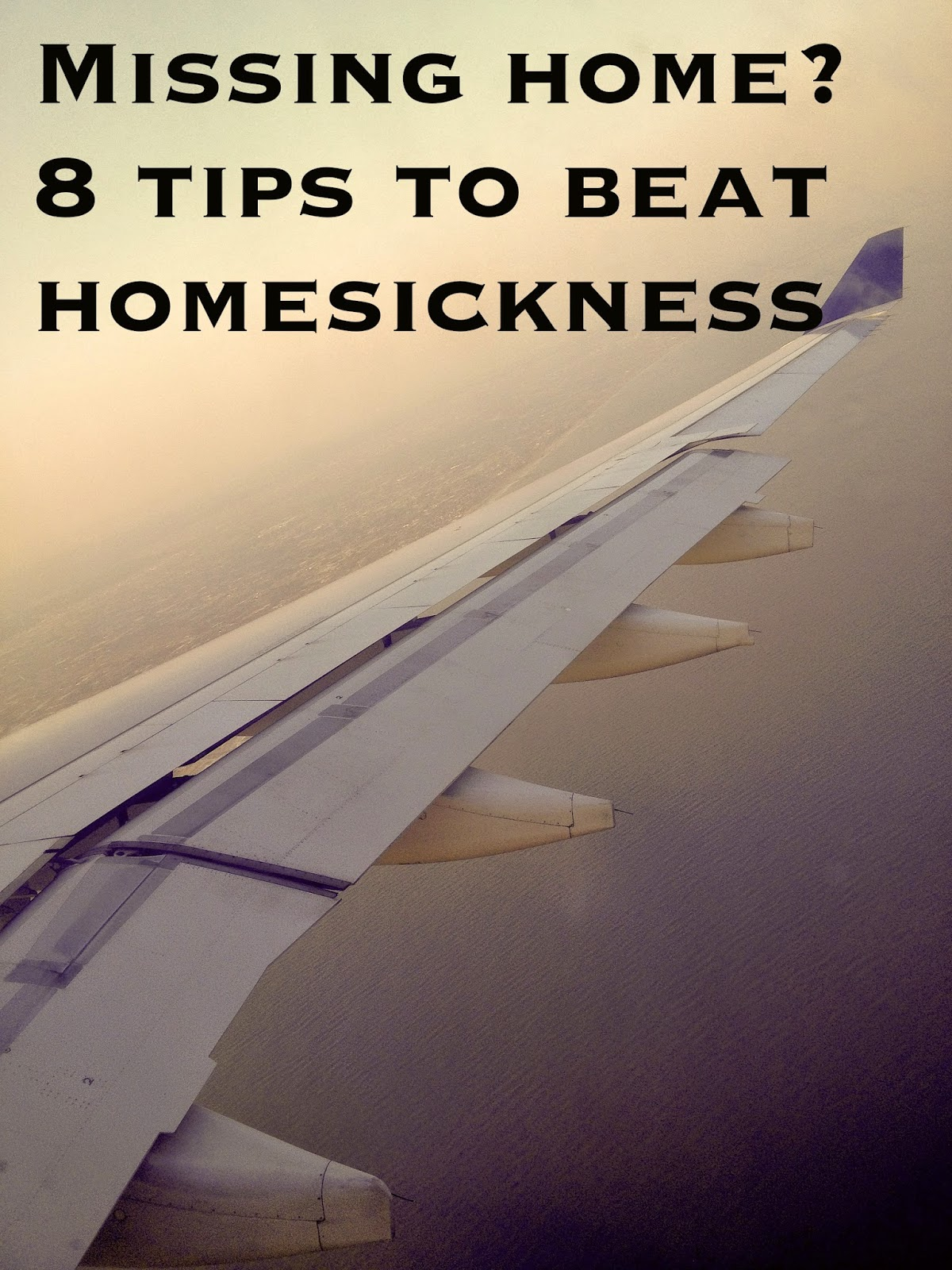 how to beat homesickness