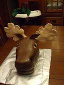 Moose Head Cake