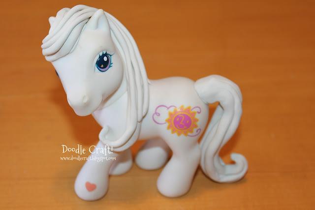 Doodlecraft diy custom my little ponies for My little pony craft ideas