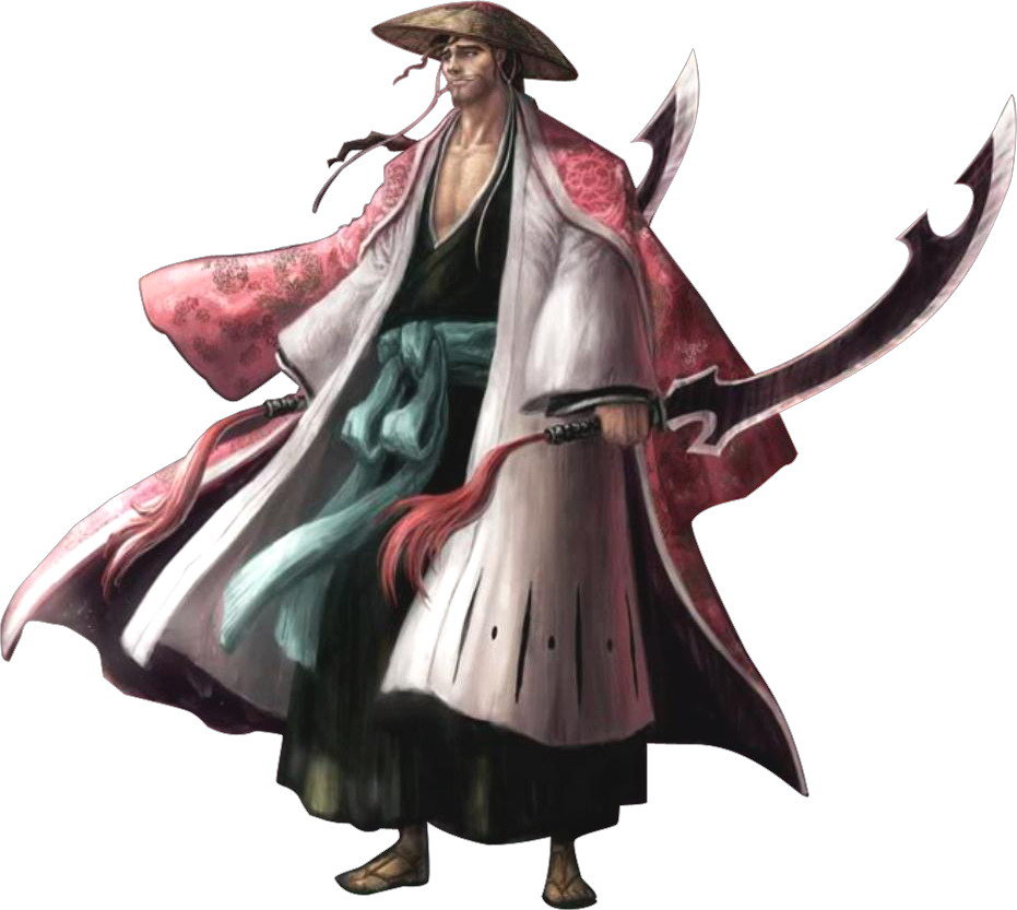 shunsui kyoraku how tall