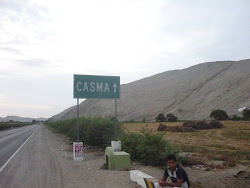 Llegando a Casma