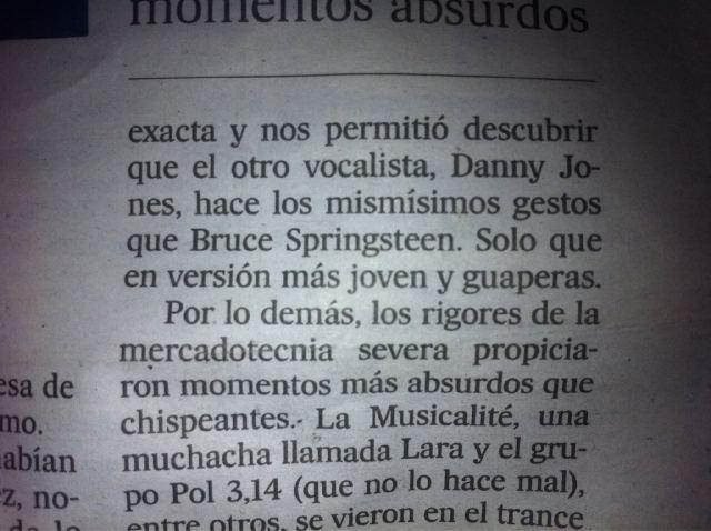 Danny Jones comparado ao Bruce