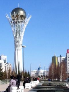 Astana, Spring, Baiterek