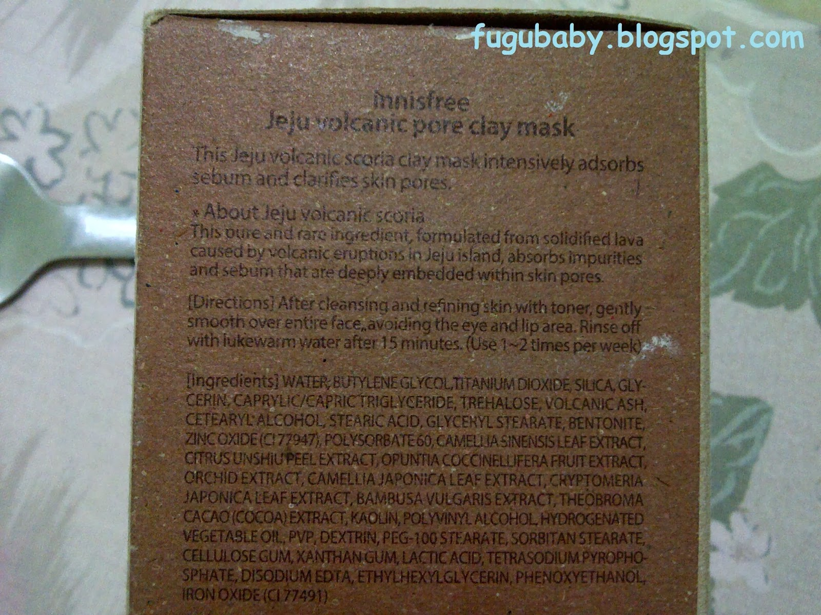 how to use jeju volcanic pore clay mask