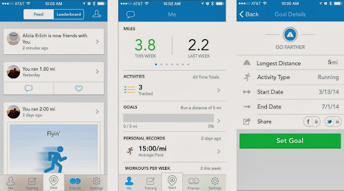 Runkeeper iPhone Health and Fitness App