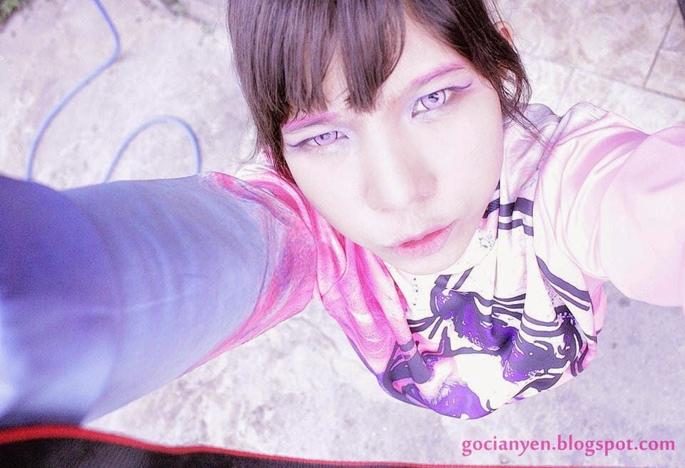 Pink Contacts, Pink Lenses, Cosplay Lenses, UV Contacts