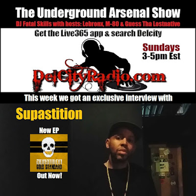 https://www.mixcloud.com/DelCityRadio/the-underground-arsenal-show-with-special-guest-supastition/