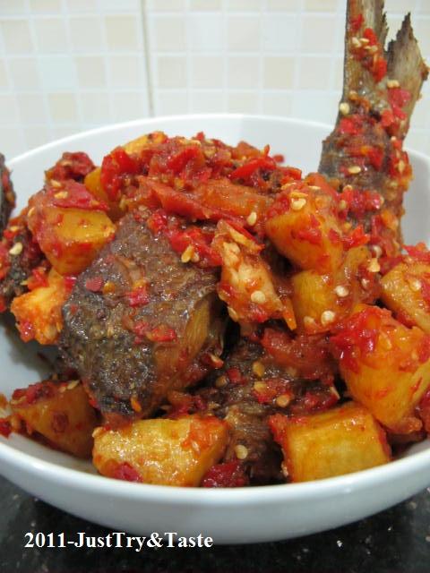 resep balado ikan bandeng amp kentang just try amp taste