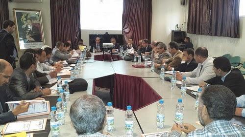 لقاء دراسي - تواصلي حول تنزيل قرارات تفويض الاختصاصات والنظام المعلومياتي(Masirh) بأكاديمية مكناس تافيلالت