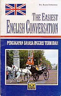 toko buku rahma: buku THE EASIEST ENGLISH V\CONVERSATION, pengarang husen hermawan, penerbit pustaka grafika
