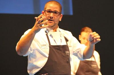 Dani García en su paso por Gastronomika 2012 Blog Esteban Capdevila