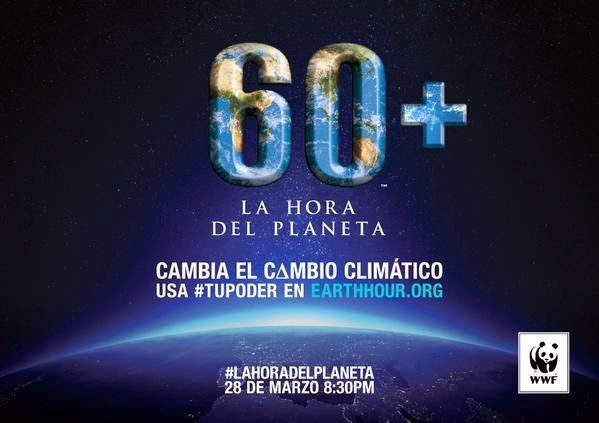 Hora del Planeta 2015 apaga todas las luces sábado 28 de marzo 8:30 - 9:30 pm ¡Súmate!