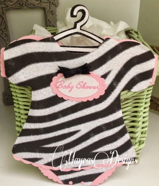 mayras designs zebra baby shower invitation