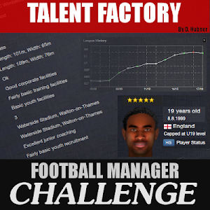 Football Manager Challenge Talent Factory