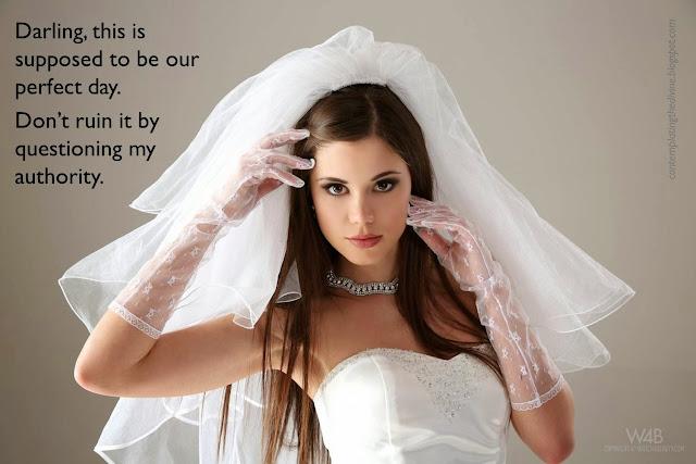 Femdom bride is ready