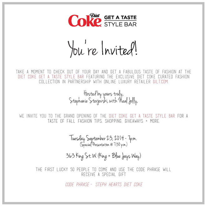 Diet Coke Gilt Pop Up Shop Stephanie Sterjovski