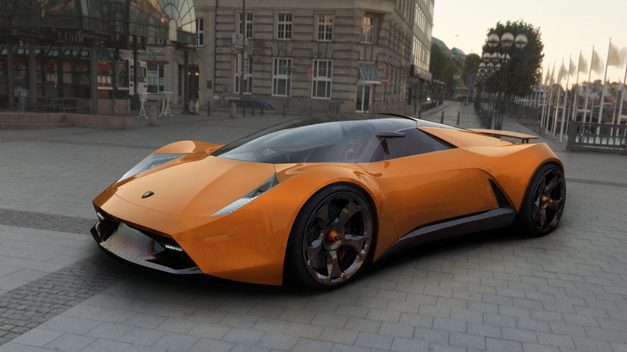 HOT METAL Bands: Lamborghini Insecta Concept Car