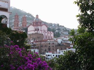 Paysages du Mexique Taxco ville coloniale mine argent  blog voyage photo