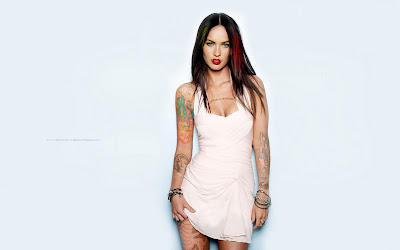 Megan Fox Full Tattoos on the body