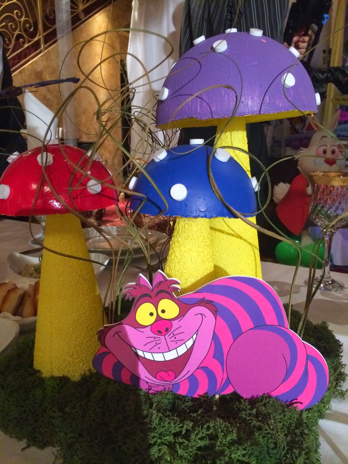 Alice In Wonderland Decorations Dreamark Events Blog Alice In Wonderland Theme Tea Party Decoration