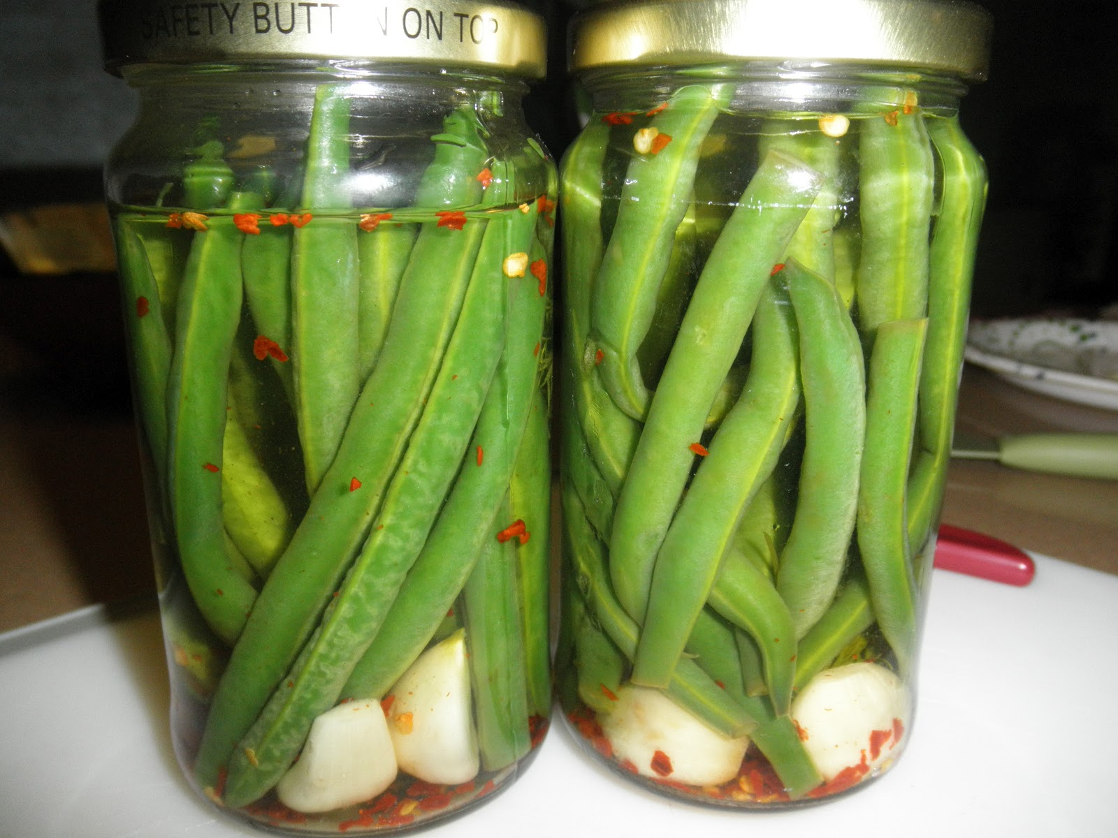 Spicy Pickled Green Beans | Princess Approved: a place for ...