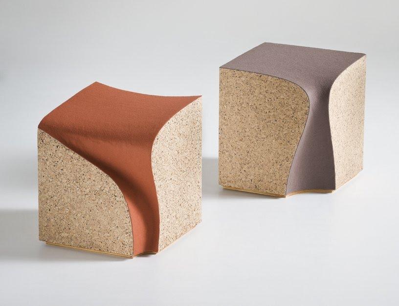 Avant Garde Design Eroded Stools By I M Lab