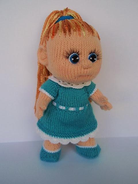 Как связать куклу своими руками спицами 39
